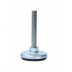 Stellfuß Gummi-Metall Ø 80 mm - 1-702